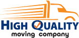 The official High Quality Moving Company logo.