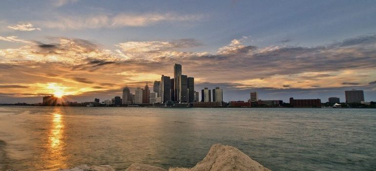 a sight you will see after moving with interstate movers Detroit