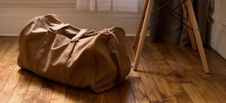 a duffel bag