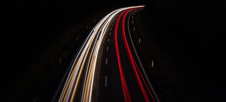 Highways in the night