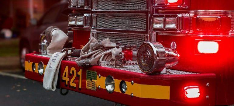 Fire deparment truck